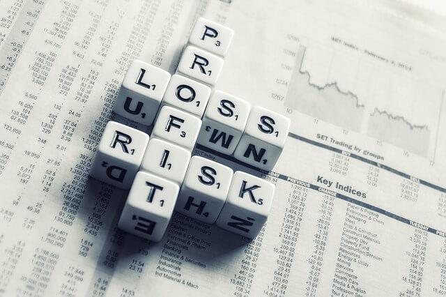Gewinn und Verlust Aktien